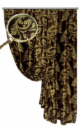 Ткань Блэкаут Катрин  (двухсторонняя)№ 10, фото 2