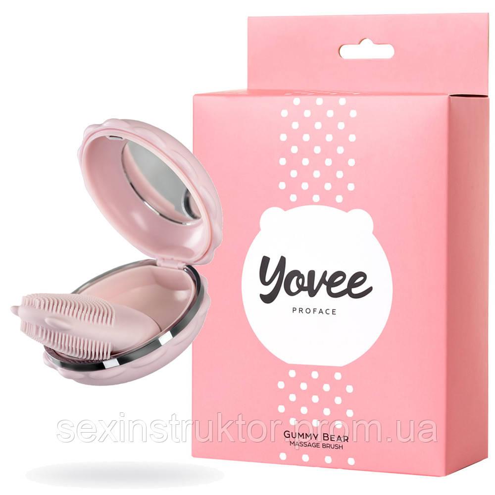 Массажер для лица Yovee Gummy Bear, розовый