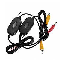 Бездротовий передавач приймач для автомобільної камери заднього і переднього виду, RCA
