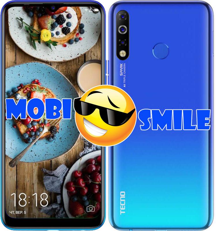 Смартфон Tecno Spark 4 (KC2) 3/32GB Vacation Blue Гарантия 12 месяцев