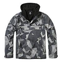 Куртка ветровка Brandit Windbreaker NIGHT CAMO DIGITAL XXL Камуфляжный 3001.163, КОД: 1381877