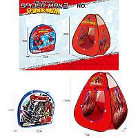Детская палатка Spiderman Avengers с сумкой для детей от 2 лет, детский игровой центр