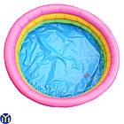 Детский надувной бассейн Радуга, 90х35 см, фото 2