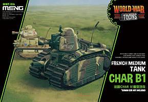 French Heavy Tank Char B1 (Cartoon Model). MENG MODEL WWT-016