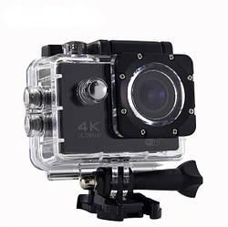 Экшн камера Action Camera 4K Ultra HD WiFi в защитном водонепроницаемом боксе