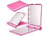 Зеркало с LED подсветкой розовое, фото 5