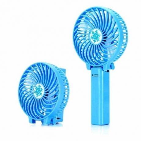 Ручний вентилятор на підставці fan 2 (ручка)