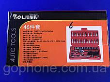 Набор качественных инструментов 46 деталей, фото 2