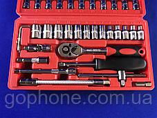 Набор качественных инструментов 46 деталей, фото 3