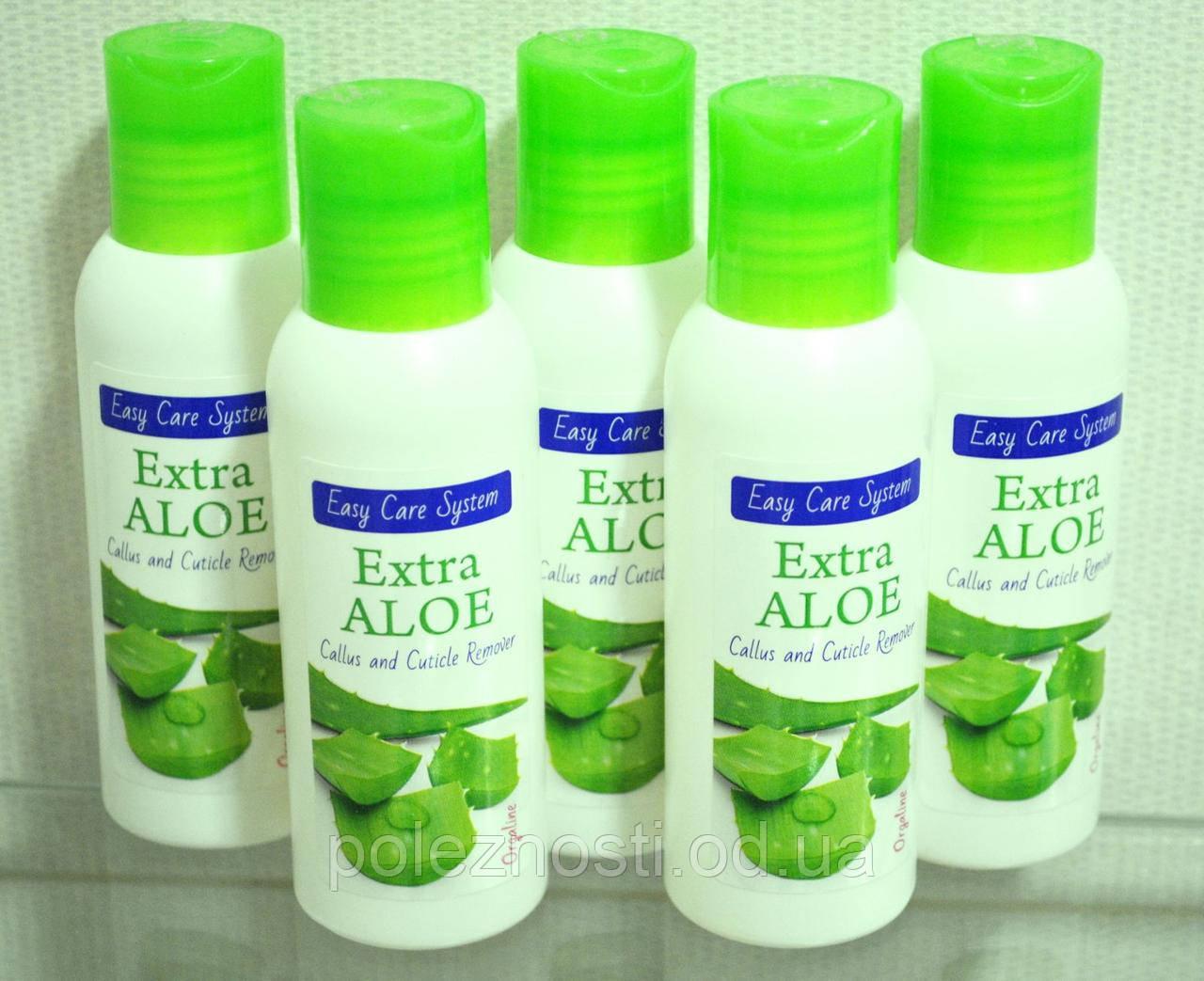Гель для аквапилинга Exta Aloe (100 ml), биогель с увеличенным содержанием алоэ вера для биопедикюра