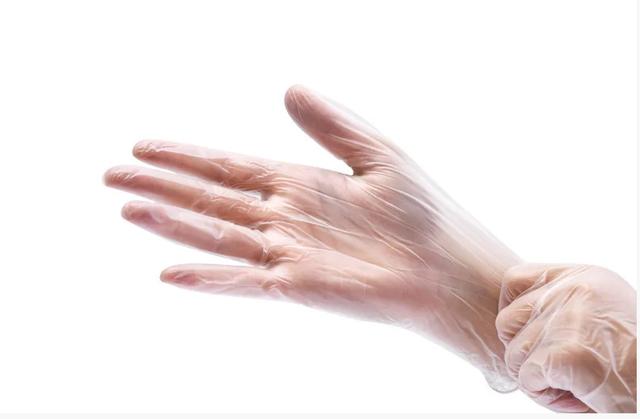 Вінілові рукавички