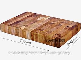 Доска торцевая разделочная 300х200х42 мм