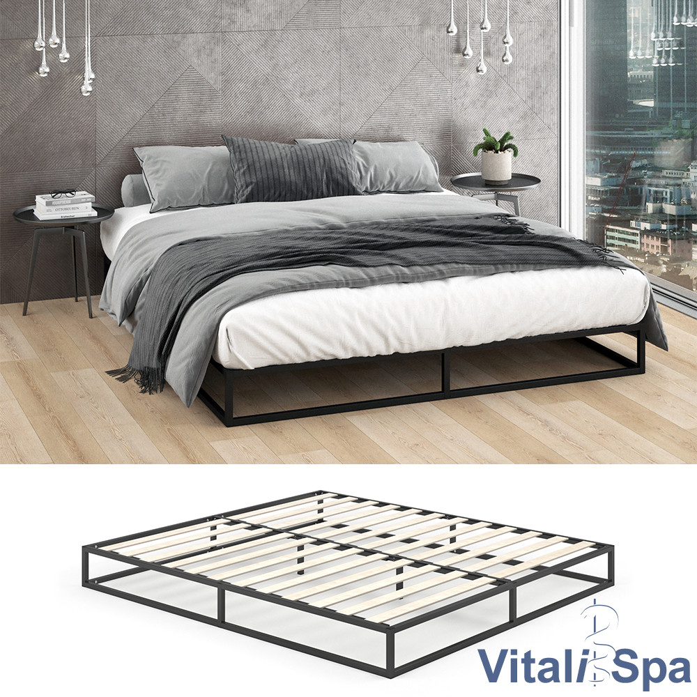 Ліжко в стилі лофт 180x200 VitaliSpa Mattia