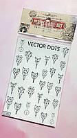 Наклейки слайдеры на водной основе для дизайна ногтей Perfect Nail Art, S-86