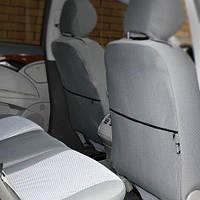 Чехлы на сиденья Nissan Primera 2002-2008 из Автоткани (Elegant), полный комплект (5 мест)