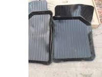 Коврики салона резиновые ВАЗ 2101-07 передние (комплект 2 части) (производство г.Харьков)