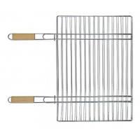 Решетка большая разъёмная для гриля с двумя ручками Kamille Скаут 54*38 см