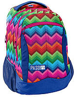 Яркий женский рюкзак PASO 22L, 18-2808ZI16
