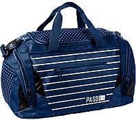 Спортивная сумка для тренировок Paso 27L, 18-019DO синяя