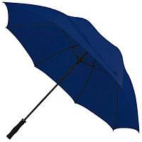 Зонт - трость антишторм 133см Синий