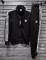 Мужской спортивный костюм Adidas (Адидас) весна/осень, черный