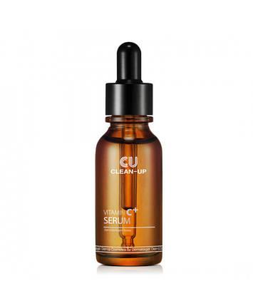 Регенерирующая Сыворотка с Витамином С 4,5%  CU SKIN Clean-Up Vitamin C+ Serum, 20 мл, фото 2