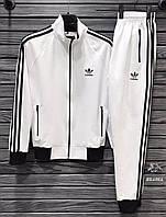 Мужской спортивный костюм Adidas (Адидас) весна/осень, белые