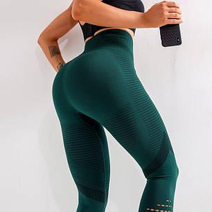 """Женские лосины для фитнеса """"Зеленые"""", фото 2"""