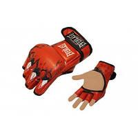 Перчатки для смешанных единоборств MMA PU ELAST BO-3207