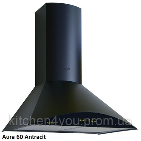 Fabiano Aura 60 antracit купольная кухонная вытяжка 60 см. эмаль антрацит