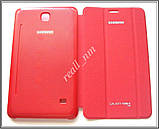 Красный чехол Book Cover #1 для Samsung Galaxy TAB 4 7.0 T230 T231, фото 3
