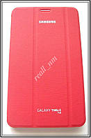 Красный чехол Book Cover #1 для Samsung Galaxy TAB 4 7.0 T230 T231, фото 1