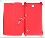 Красный чехол Book Cover #1 для Samsung Galaxy TAB 4 7.0 T230 T231, фото 4