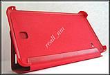 Красный чехол Book Cover #1 для Samsung Galaxy TAB 4 7.0 T230 T231, фото 2