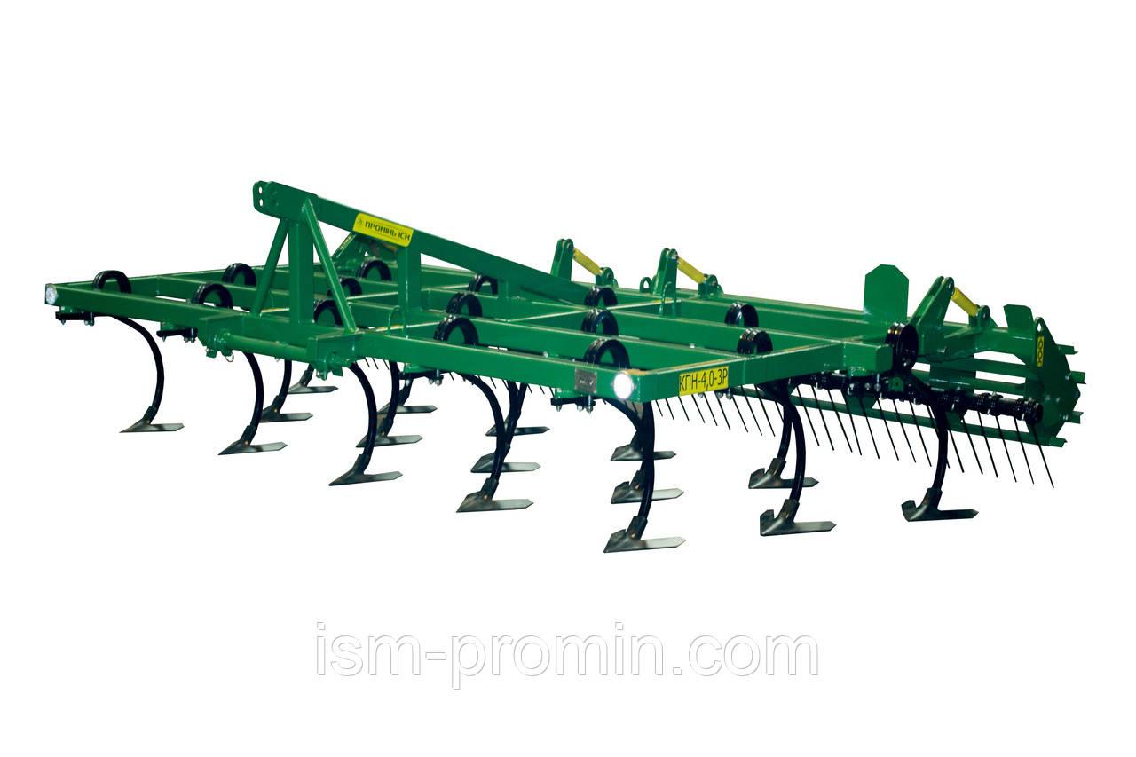 Культиватор предпосевной навесной КПН-4,0-3 Р (рессорная стойка Bellota)
