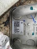 Теплообменник радиатор охлаждения масла Рено Докер / Лоджи / Клио 4 / Меган 4 б/у, фото 2