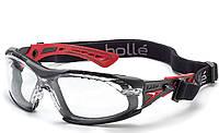 Очки защитные Bolle Safety Rush Plus Seal.изготовлены из поликарбонатного стекла