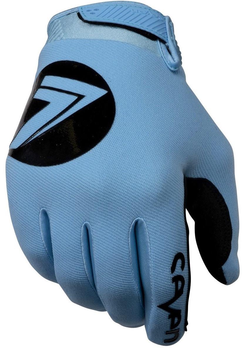 Мотоперчатки Seven MX Annex 7 DOT голубые, L