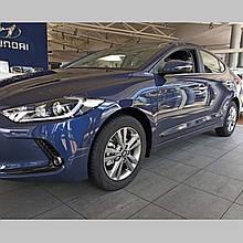 Молдинги на двері для Hyundai Elantra AD 2015>