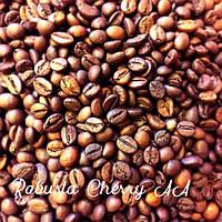 Кава в зернах Робуста Індія Черрі АА