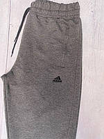 Мужские спортивные штаны Adidas серый. Чоловічі спортивні штани Adidas сiрий.