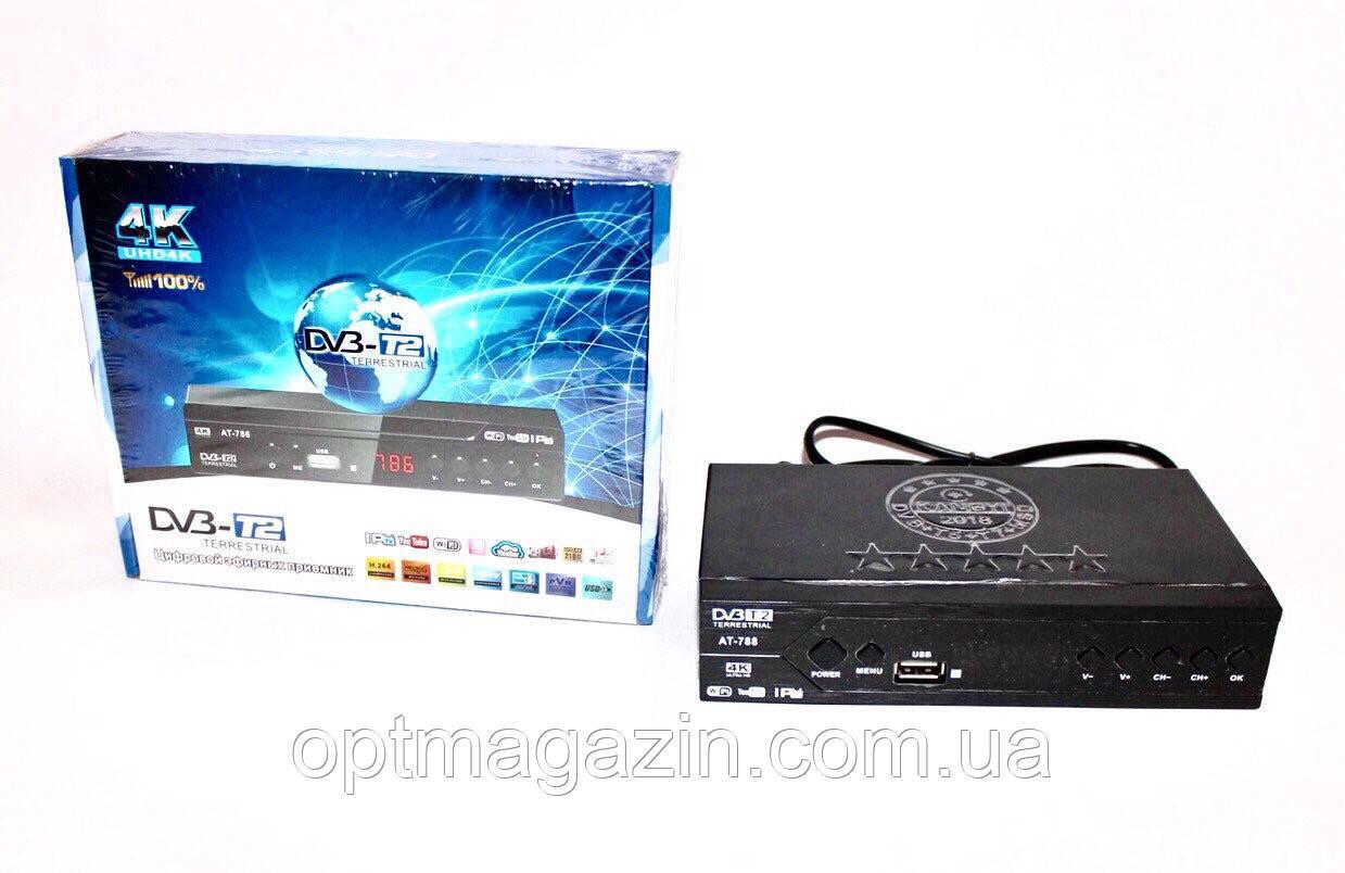 Цифровой Тюнер kangyi 786 Т2 DV3 T5IPTV YouTube WiFi 4k(1080) Full HD