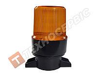 Проблесковый маячок,оранжевый,светодиодный 18LED,10-30 Вольт (мигалка) крепление на шток (пр-во IsiksanТурция), фото 1