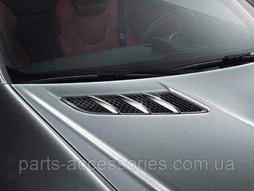 Mercedes SLK R172 R 172 хром на капот комплект новый оригинал 2012-16