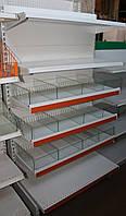 Кондитерский торговый стеллаж бу (Арлекс)