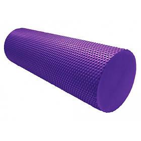 Массажный ролик для фитнеса и аэробики  Power System Fitness Roller PS-4074 Purple (45*15)
