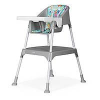Дитячий стільчик-трансформер для годування 3 в 1 EVENFLO Y9312-MKGR, сірий колір, фото 1