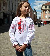 """Вышиванка крестиком для девочки """"Украиночка-2"""" на рост 86-116 см, фото 1"""
