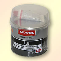 Шпатлёвка с алюминием NOVOL ALU 0,75 кг.