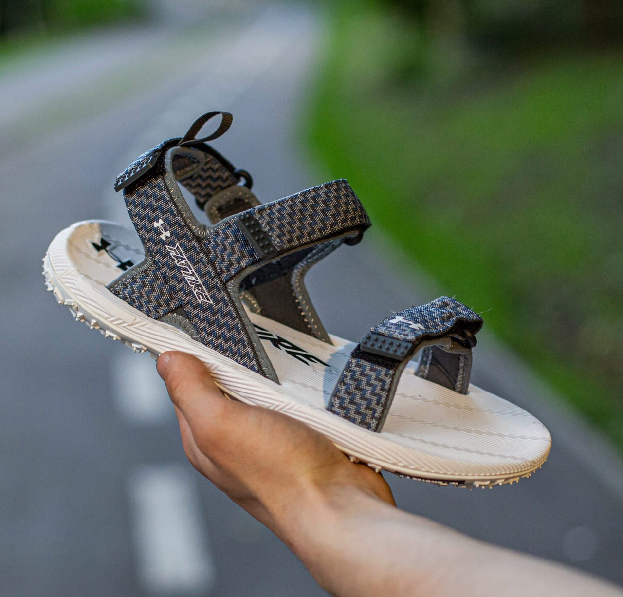 Мужские сандалии Under Armour Fattire Sandala x Michelin, Реплика